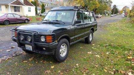 1995 Range Rover County LWB left front