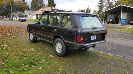 1995 Range Rover County LWB left rear