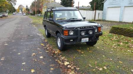 1995 Range Rover County LWB right front