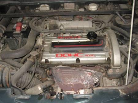 1957 Volvo P210 Duett engine