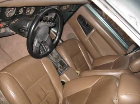 1957 Volvo P210 Duett interior