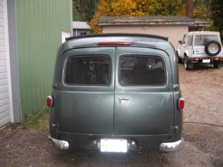 1957 Volvo P210 Duett rear