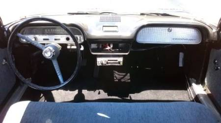 1961 Chevrolet Corvair 2 Lakewood interior