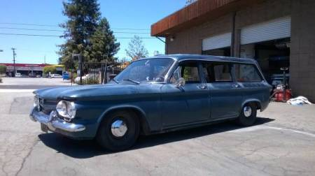 1961 Chevrolet Corvair 2 Lakewood left front