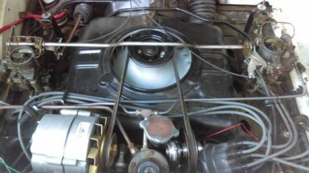 1961 Chevrolet Corvair Lakewood 1 engine