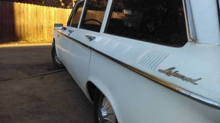 1961 Chevrolet Corvair Lakewood 1 left rear
