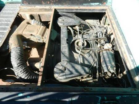 1962 Chevrolet Corvair Rampside engine