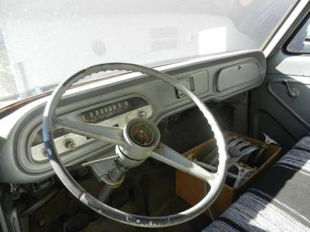 1962 Chevrolet Corvair Rampside interior