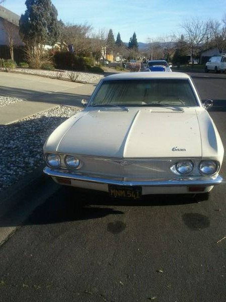 1965 Chevrolet Corvair 500 coupe front