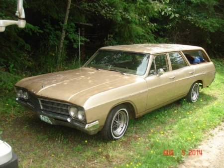 1966 Buick Special wagon left front