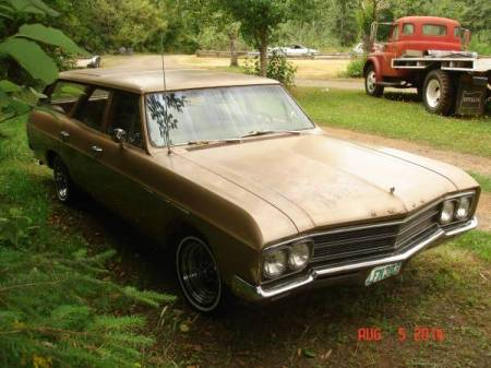 1966 Buick Special wagon right front