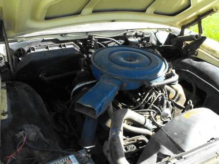 1969 Ford Galaxie 500 Country Sedan engine