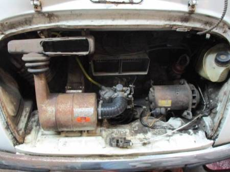 1969 Subaru 360 engine