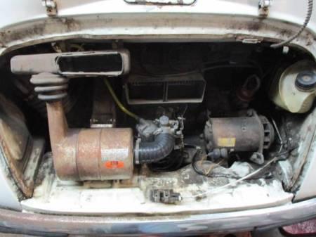 1969 Subaru 360 engine
