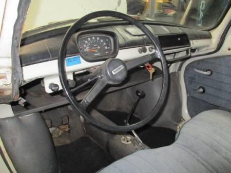 1969 Subaru 360 interior