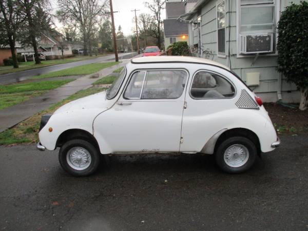 Microcar Face f – 1969 Subaru 360 vs 2005 Smart Fortwo