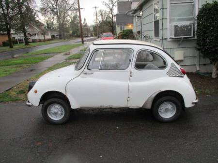 1969 Subaru 360 left side