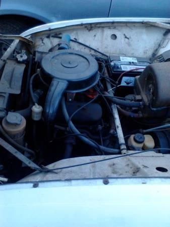 1972 Saab 95 engine