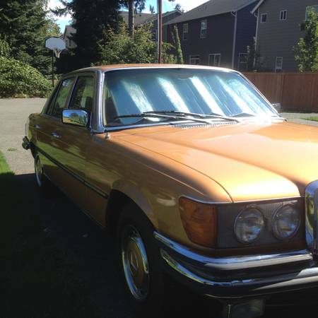 1973 Mercedes 450 SE right front
