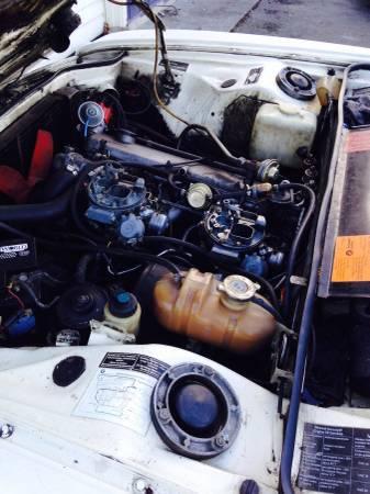 1974 BMW Bavaria engine