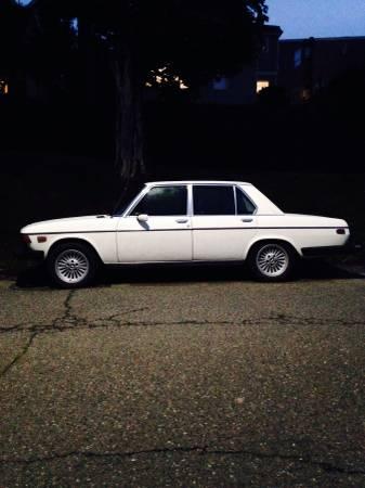 1974 BMW Bavaria left side