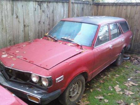 1974 Mazda RX-3 Wagon 2 left front