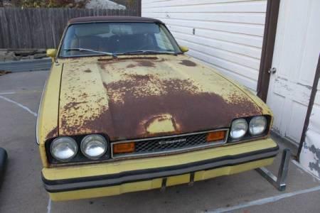 1976 Mercury Capri Ghia front