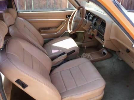 1976 Mercury Capri interior