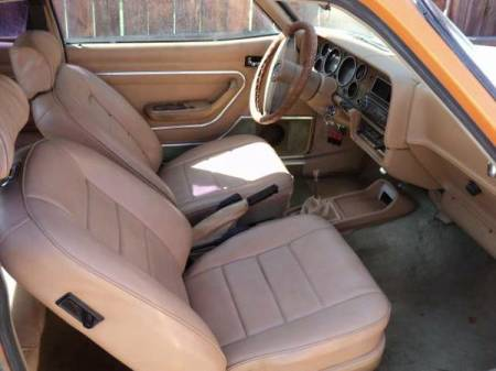 1976 Mercury Capri interior