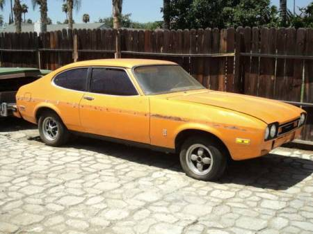 1976 Mercury Capri right front