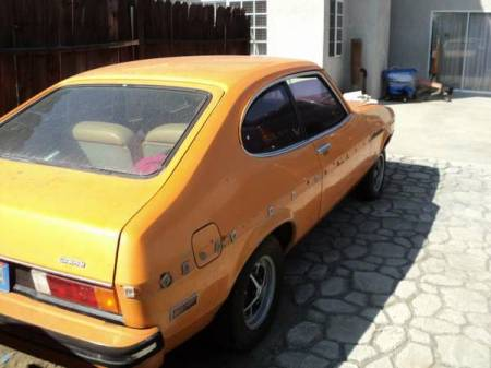 1976 Mercury Capri right rear