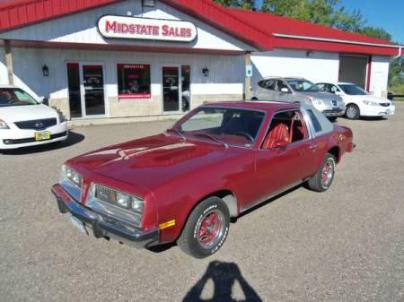 1976 Pontiac Sunbird left front