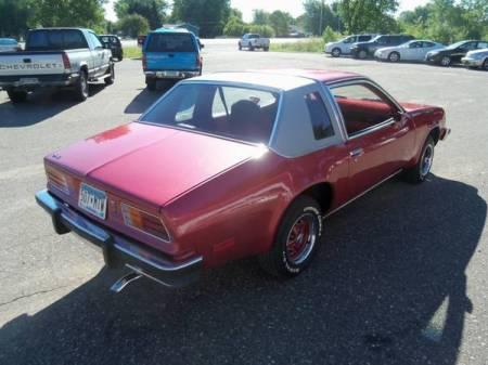 1976 Pontiac Sunbird right rear