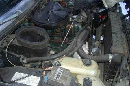 1979 AMC Pacer wagon engine
