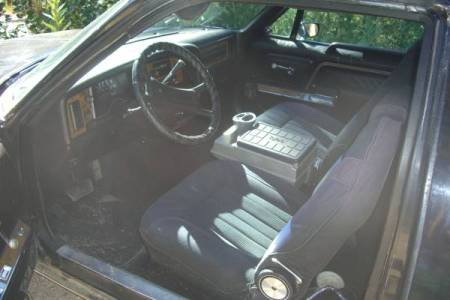 1979 AMC Pacer wagon interior