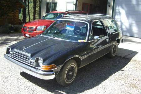 1979 AMC Pacer wagon left front
