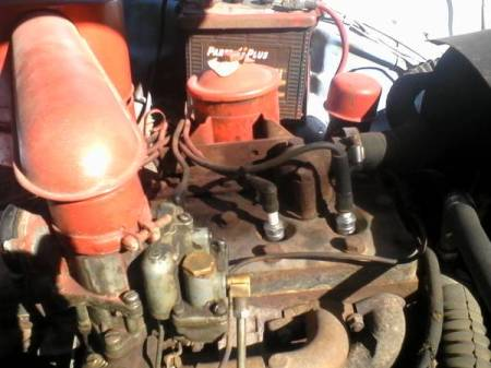 1955 Studebaker Champion engine