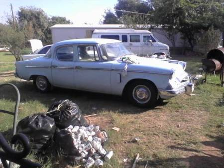 1955 Studebaker Champion right front