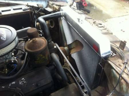 1957 Studebaker President engine