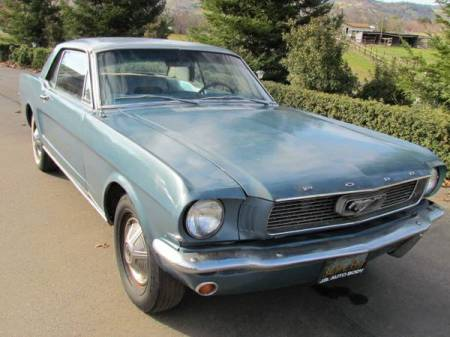 1966 Ford Mustang right front
