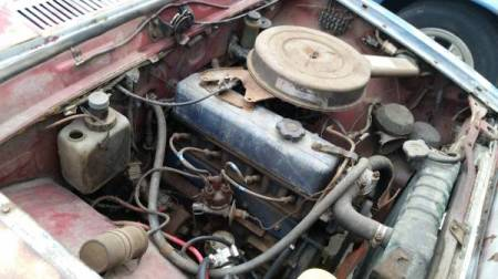 1969 Toyota Corona 2 engine