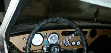 1969 Triumph Spitfire dashboard