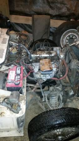 1969 Triumph Spitfire engine