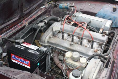 1972 Alfa Romeo Berlina engine