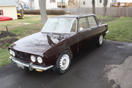 1972 Alfa Romeo Berlina left front