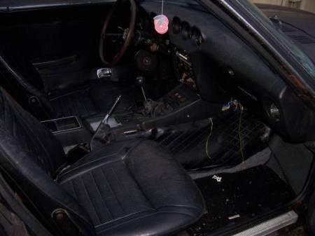 1973 Datsun 240Z interior