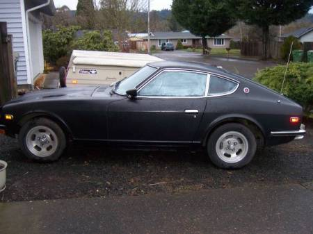 1973 Datsun 240Z left
