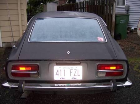 1973 Datsun 240Z rear