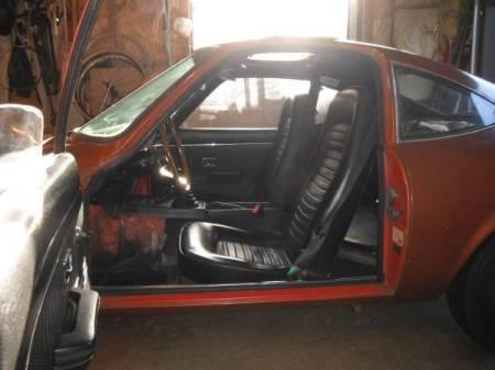 1973 Opel GT interior