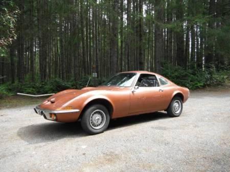 1973 Opel GT left front